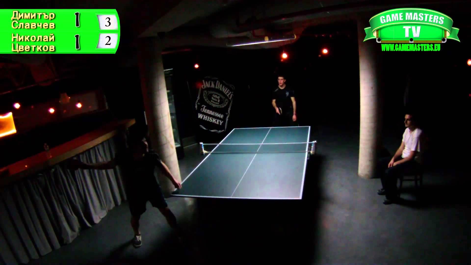 Table Tennis Handicap Series 2014, Кръг 1