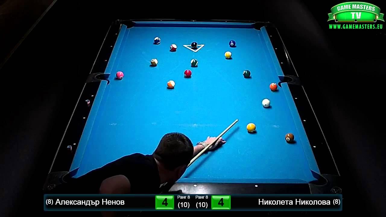 The Best of Game Masters 2015, Полуфинал, Александър Ненов – Николета Николова