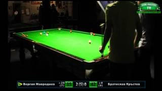 Snooker Handicap Series 2014, Финал – Кръг 1