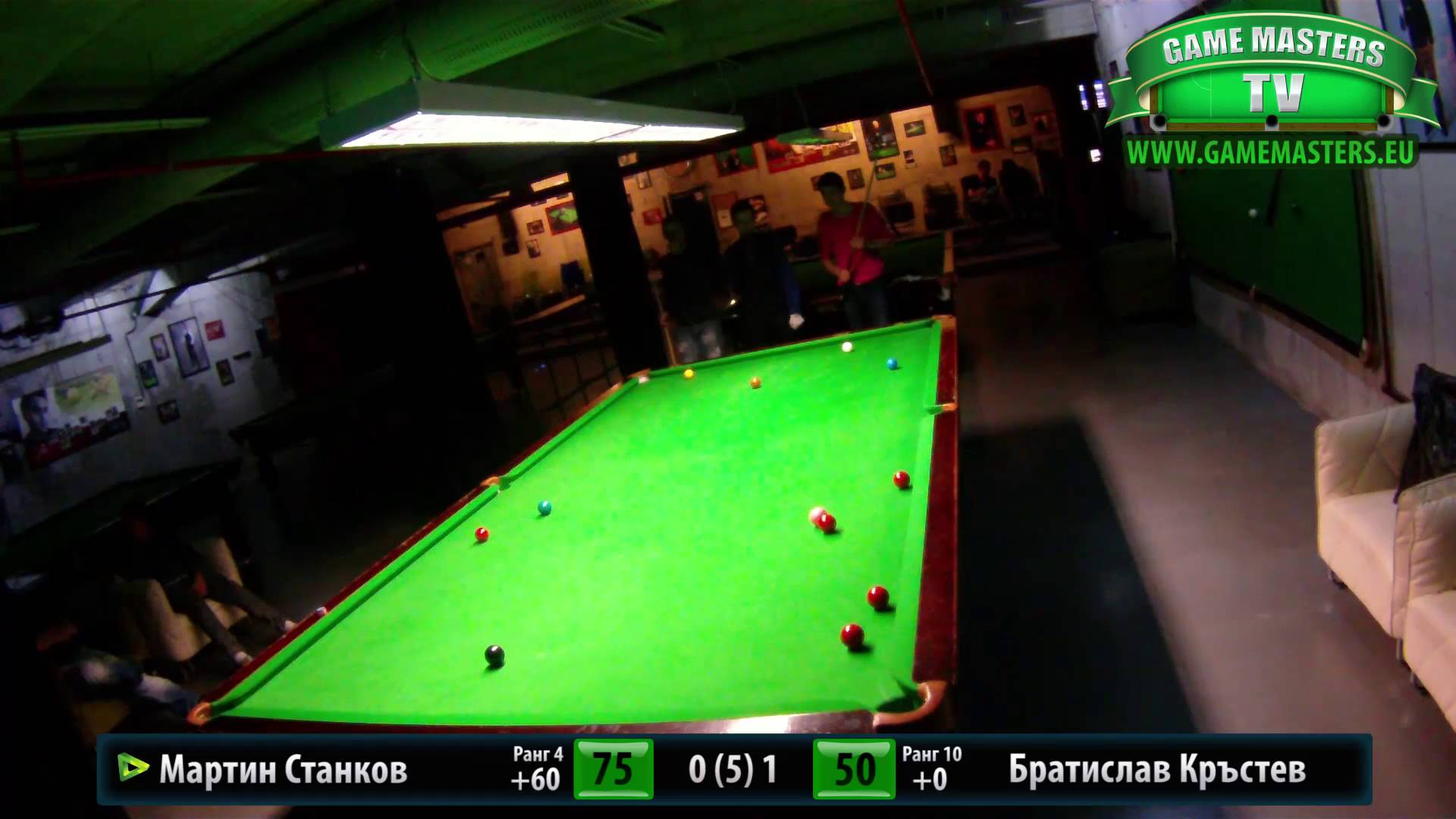 Snooker Handicap Series 2014, Финал – Кръг 4